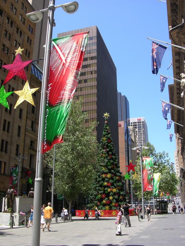 Kerstmis in de zon
