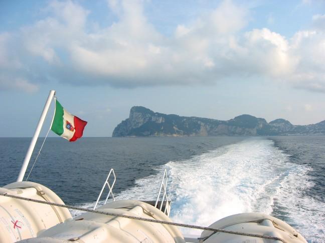Capri vanaf de ferry