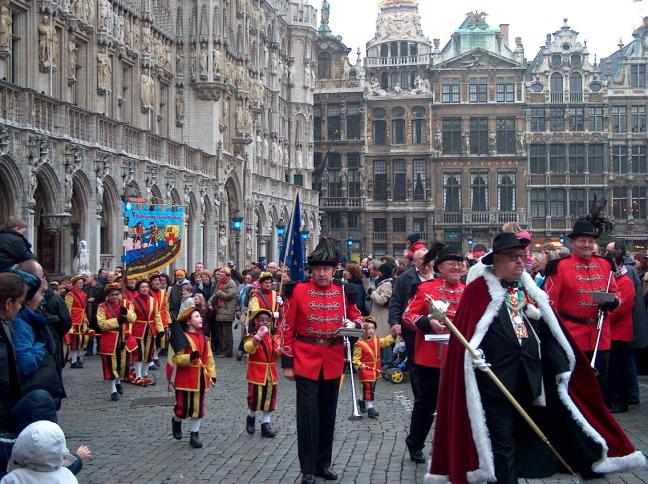 Sint in Brussel