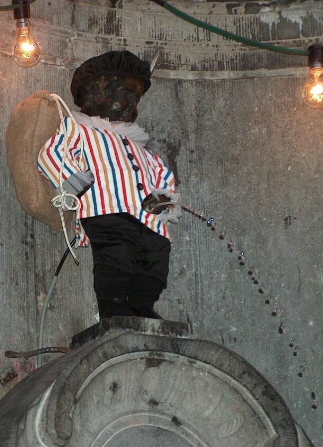 Manneke Pis als Zwarte Piet