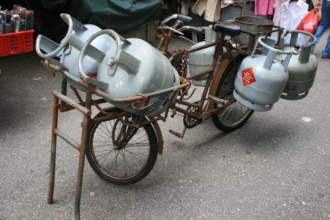 Gasflessenvervoer.....