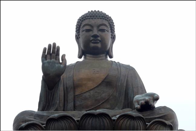 grootste zittende boeddha