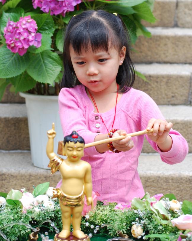 Buddha wassen