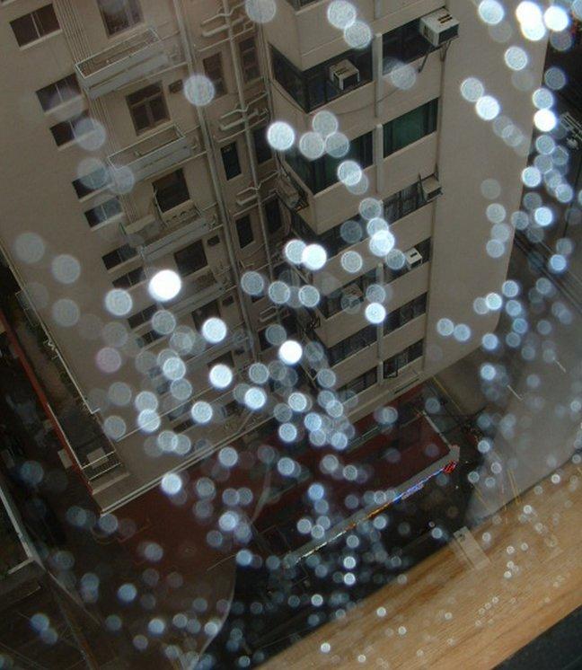 Raindrops keep falling ........................