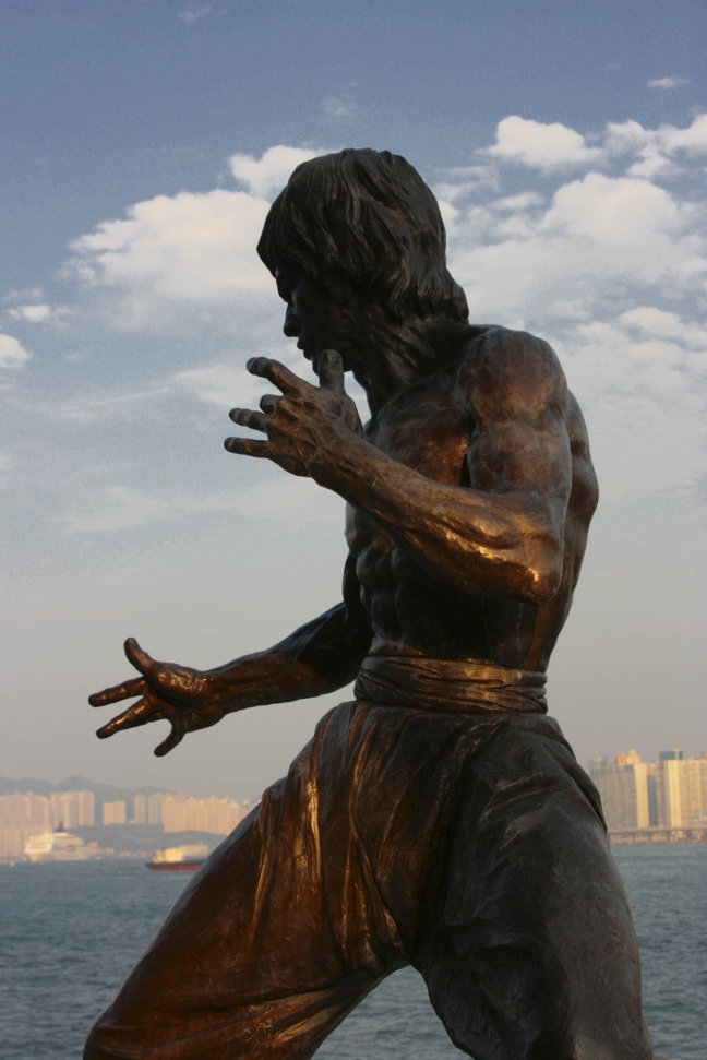 Bruce lee in Hongkong