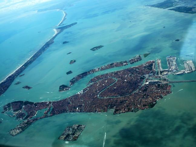 Venetië vanuit de lucht