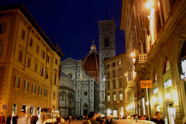 Romantiek in Firenze