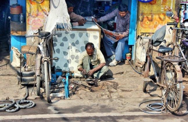 De fietsenmaker van Agra