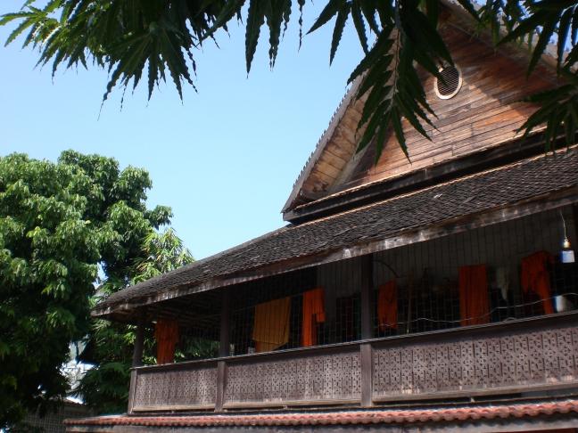 Monnikenverblijf in Chiang Mai.