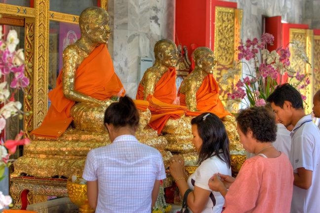 Thailand, Phuket, wat chalong