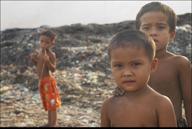 Vuilnisbelt Pnom penh