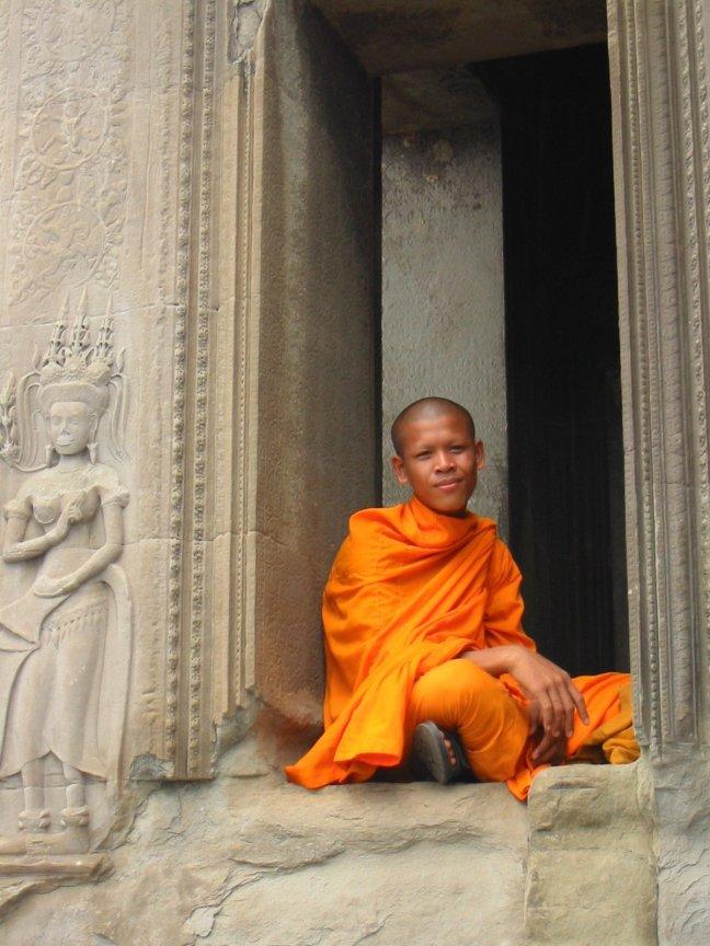 Angkor monnik