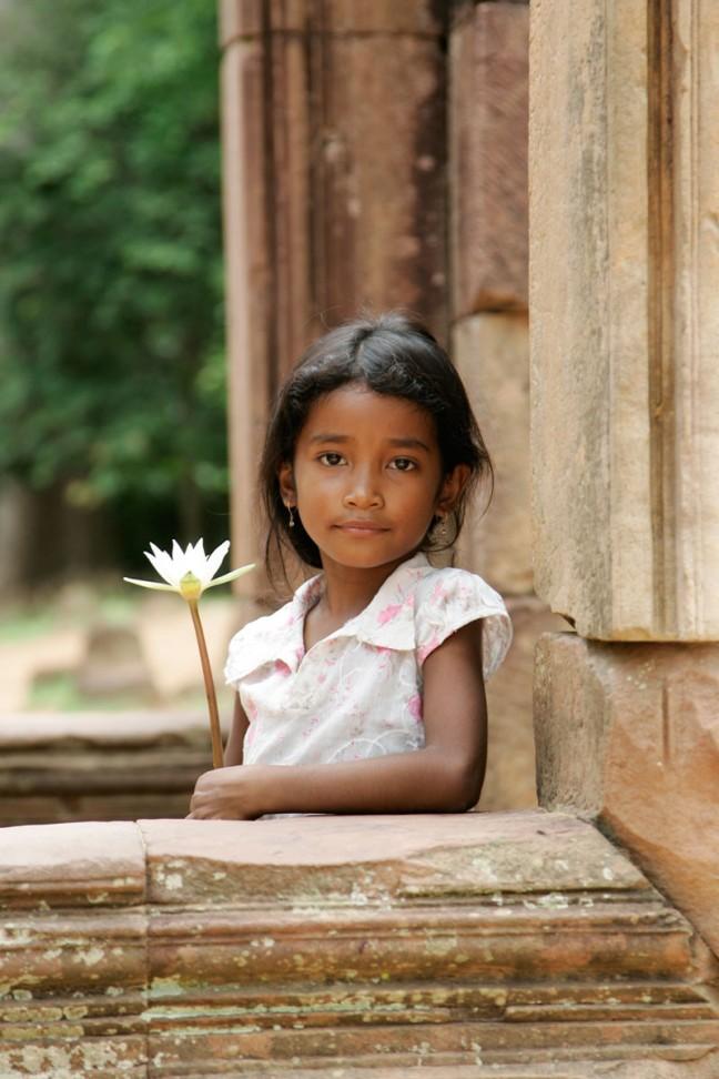 Lotus meisje