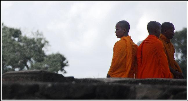 Mijmerende monniken