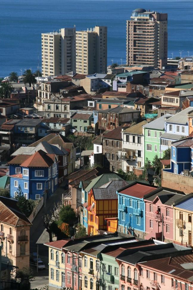Kleurrijk Valparaiso