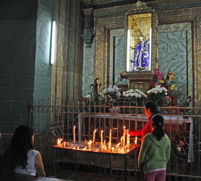 in de kathedraal