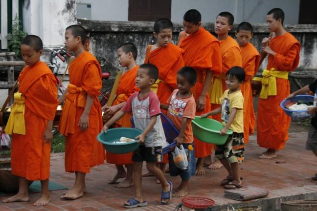 bedelronde van de monniken