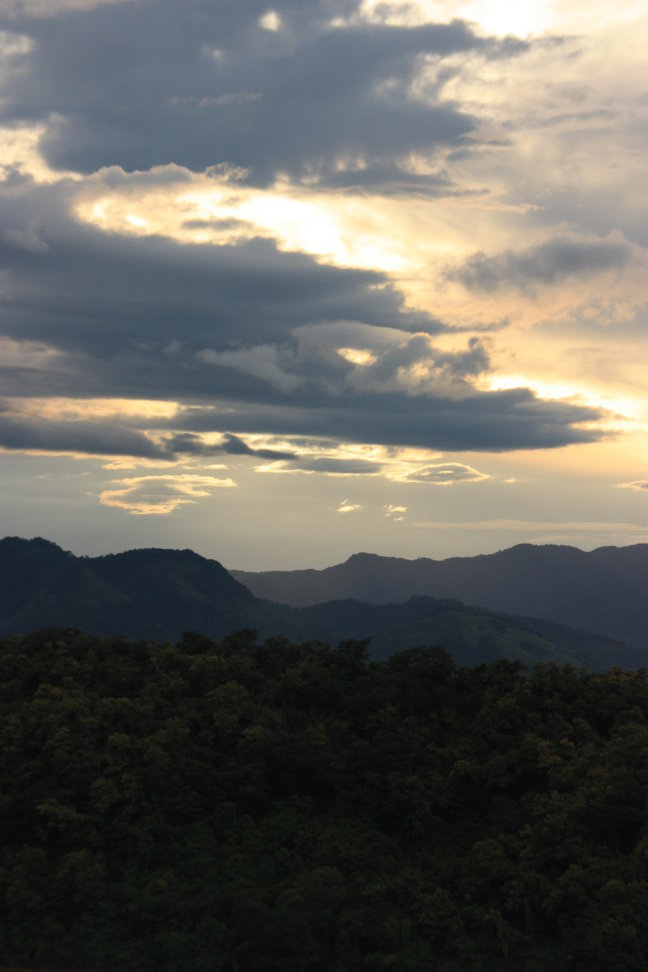 2008: Luang Prabang: zonsondergang
