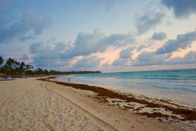 Zonsondergang Punta Cana