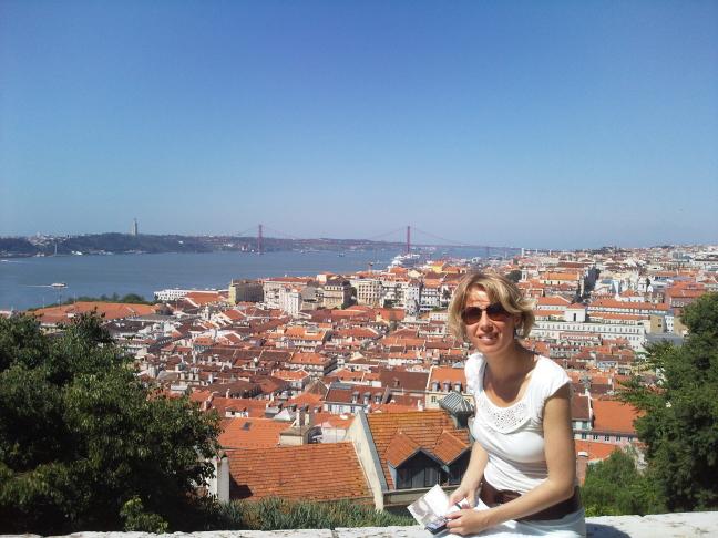 Vanaf Castelo Sao Jorge