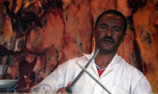 Slager in Addis