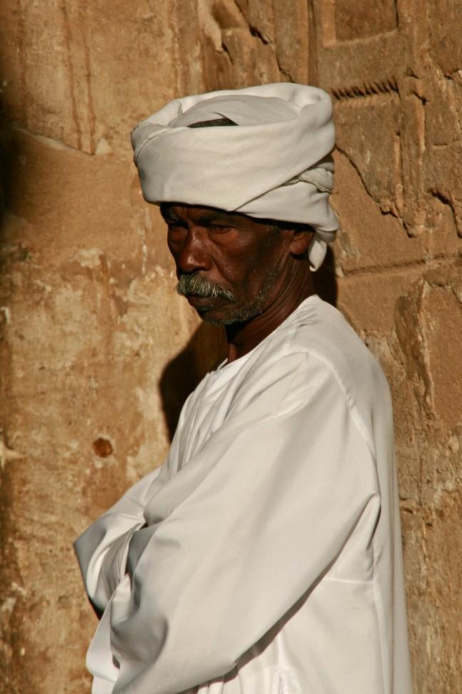 bewaking bij Abu Simbel