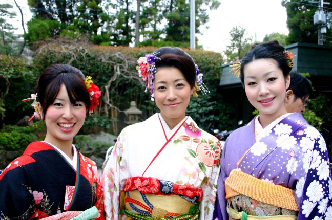 Japanese smile Kyoto