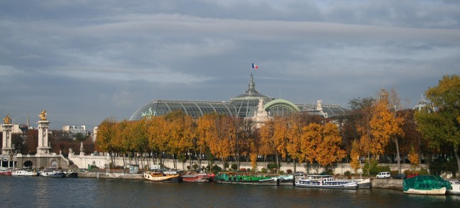 Le Grand Palais et La Seine