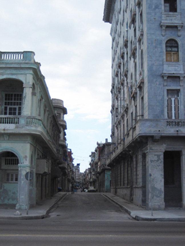 Straatbeeld Havana