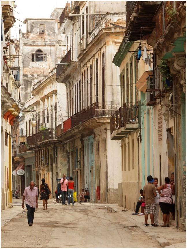 Buena Vista wijk in Havana