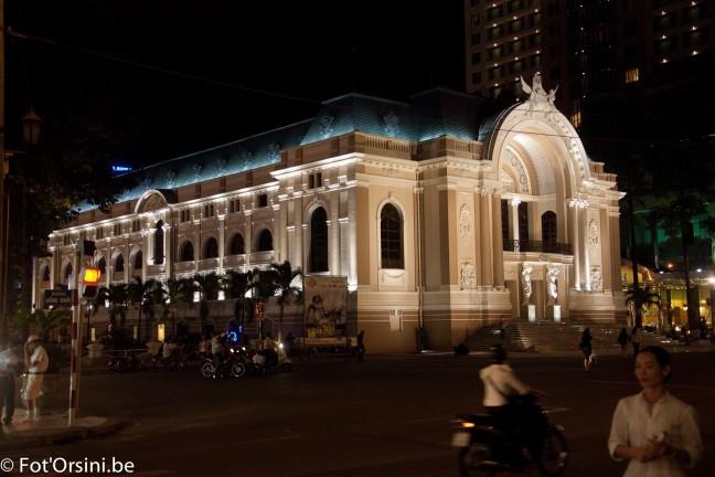 Saigon, het Operagebouw