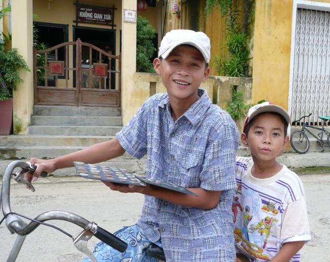 Munten sparen in Hoi An