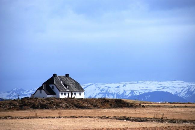 Eenzaam huisje