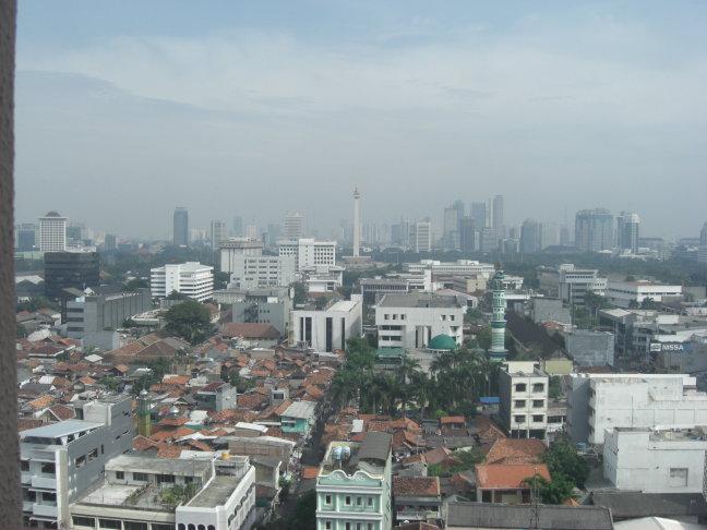 Overzicht over Jakarta
