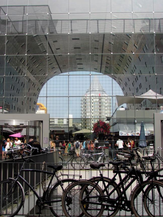 fietsen stallen voor de markthal