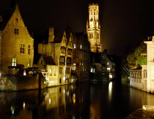 Nachtelijk Brugge