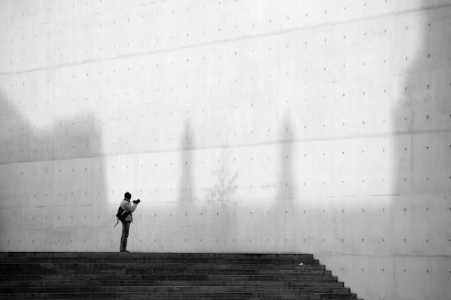 de eenzame fotograaf
