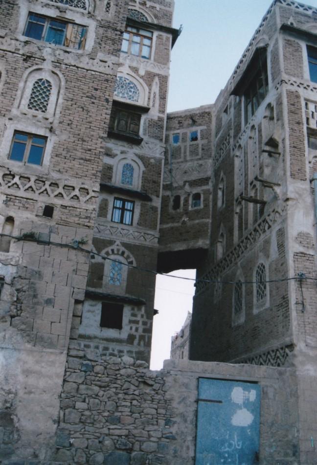 Typisch Jemenitisch huis