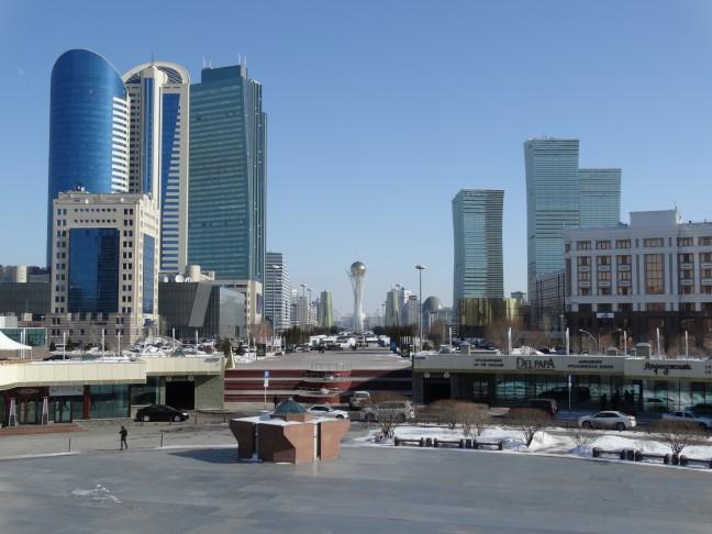 Skyline van Astana