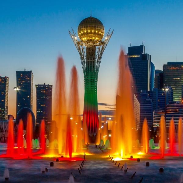 tijd kazachstan