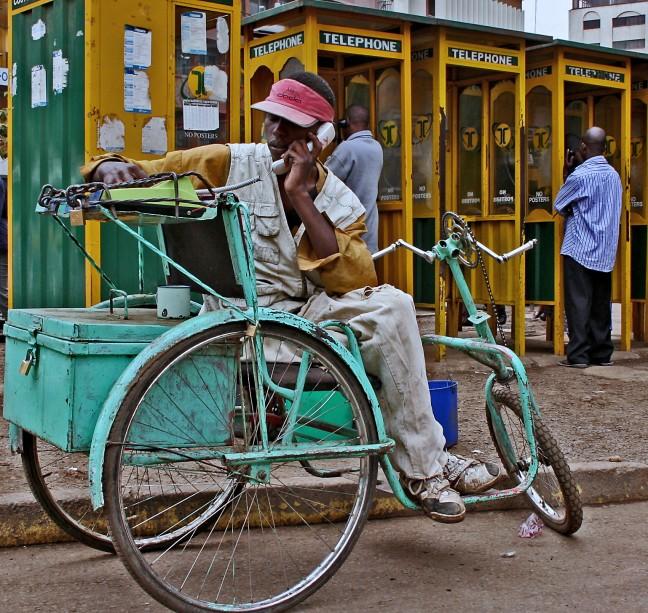 De fietstelefoon