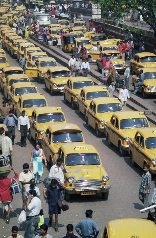 Taxi, iemand???