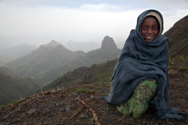 Mysterious Simien girl