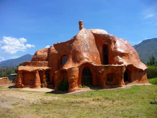 Terracotta huis