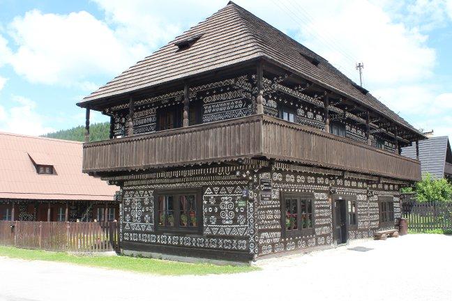 versierde huizen