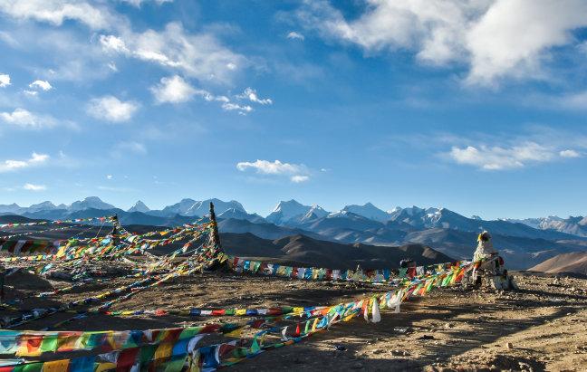 De weg naar Lhasa