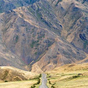 De bergen van Kazachstan