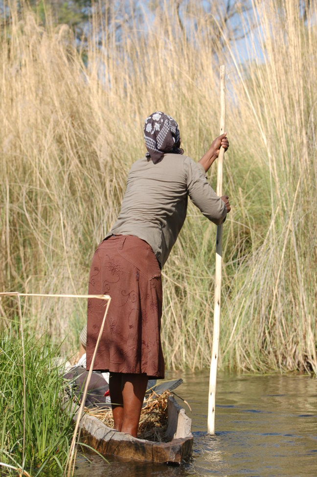 Mokoro trip in de delta
