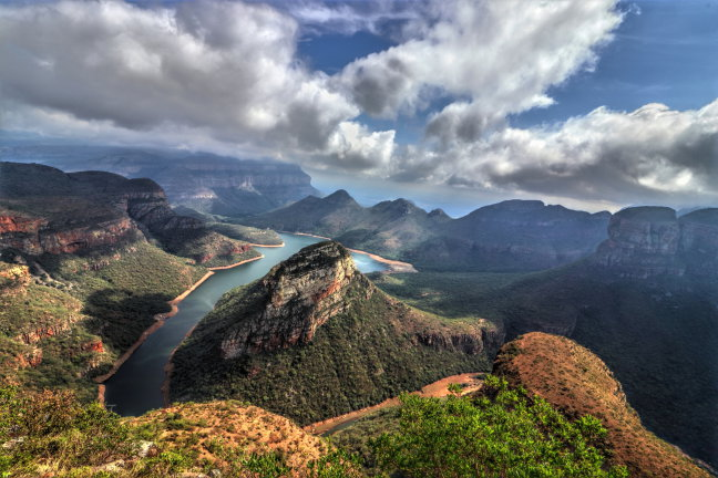 Kippenvel bij Blyde River Canyon