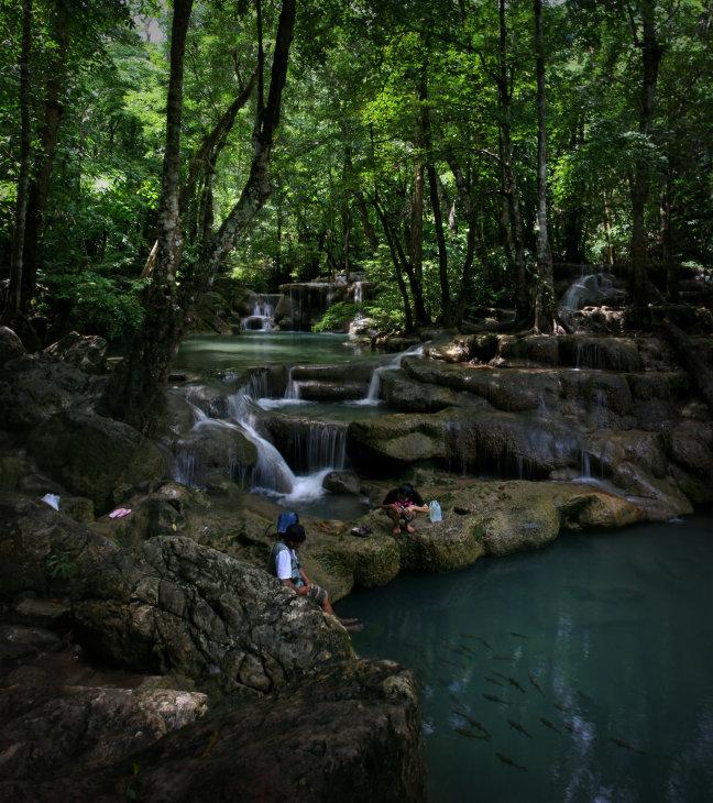 Thailand Erawan Waterfalls